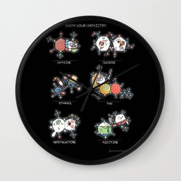 Know Your Chemistry Wall Clock