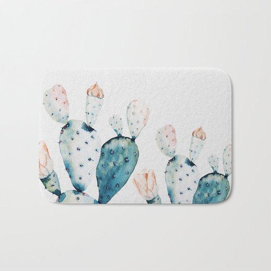 Fresh Cactus Bath Mat