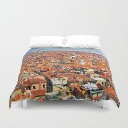 Venice Rooftops Duvet Cover