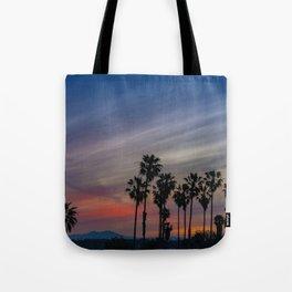 River Jetties Sunrise Tote Bag