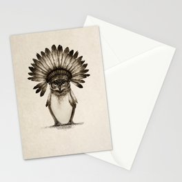 Owl Cheif Stationery Cards