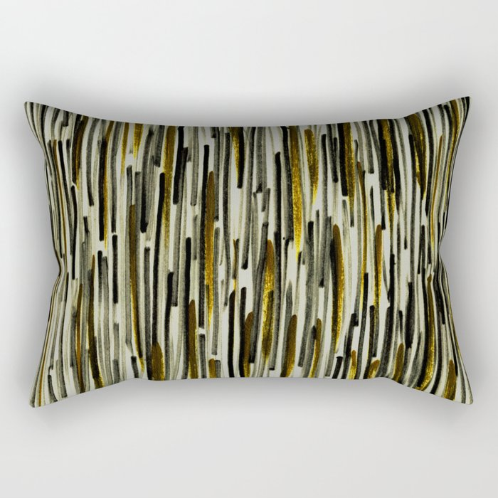 Gold Light Rectangular Pillow