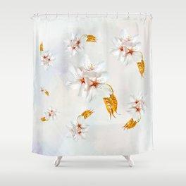 Sakura - Japanese cherry blossom Shower Curtain