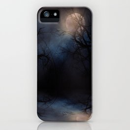 Haunted Forest iPhone Case