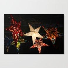 Star Lights, Star Bright Canvas Print