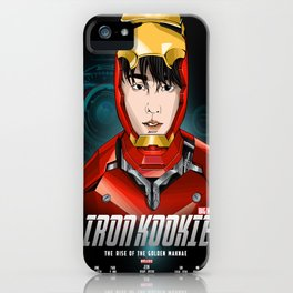 IRON KOOKIE - The rise of the Golden Maknae  iPhone Case