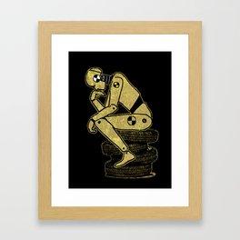 Existential Conundrum Framed Art Print