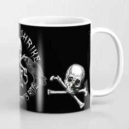 Shrike Bikes White (For black or dark shirts) Coffee Mug