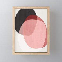 Shapes Abstract 2 Framed Mini Art Print