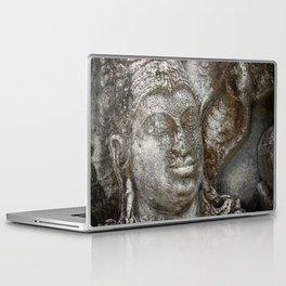 Statue at the entrance of The Polonnaruwa Vatadage Laptop & iPad Skin
