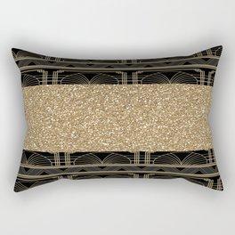 Flapper glamour Rectangular Pillow