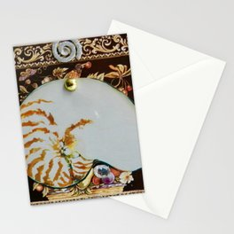 """Chambered Nautilus"" Stationery Cards"