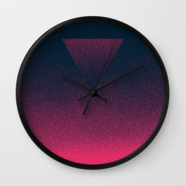 OMBRE / raspberry Wall Clock