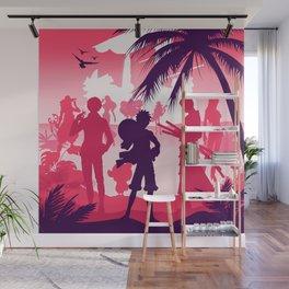 one piece minimalism Wall Mural