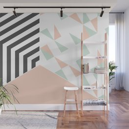 Pink Room #society6 #decor #buyart Wall Mural