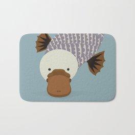 Whimsical Platypus Bath Mat