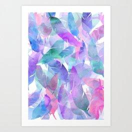 Feather Haze Art Print