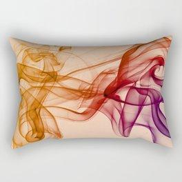 Smoke composition in pastel tones Rectangular Pillow