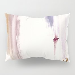 Sugar and Spice [2]: a minimal, pretty abstract piece in pinks, purple, mauve, and tan Pillow Sham