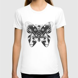 TIME FOR CHANGE HEWGE THIRD EYE BUTTERFLY GUY T-shirt