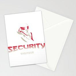 Security Engineer guru Stationery Cards