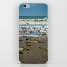 Beach Rocks iPhone Skin