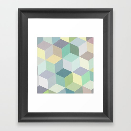 Nordic Combination 12 Framed Art Print