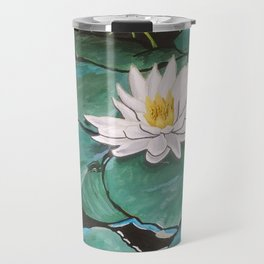 Lily of the Water Travel Mug