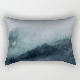 Mountain Time Rectangular Pillow