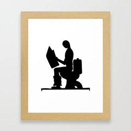 Place for reading Framed Art Print
