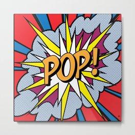 POP Art Exclamation Metal Print