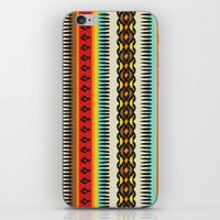 ethnic iPhone & iPod Skins featuring Ethnic by Katya Zorin