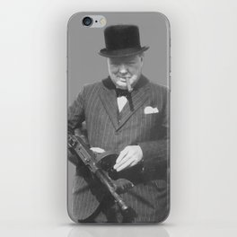 Sir Winston Churchill iPhone Skin