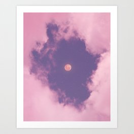 through space and time Art Print