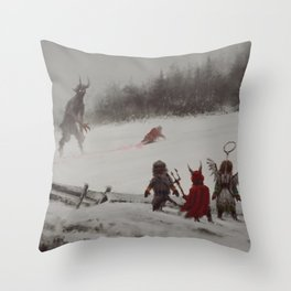 no gifts this year Throw Pillow
