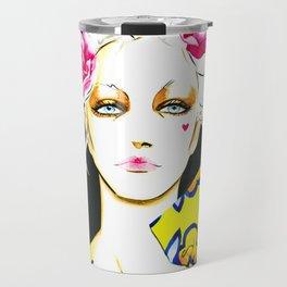 Marie Antoinette only wears Flowerbomb Travel Mug