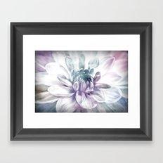 water color flower Framed Art Print