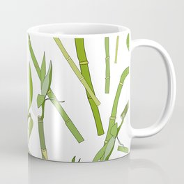 Scattered Bamboos Coffee Mug