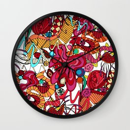 Spanish dance Wall Clock