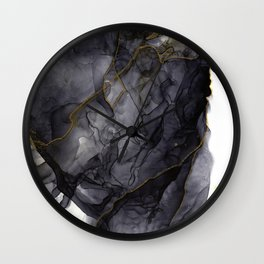 Ink flame Wall Clock