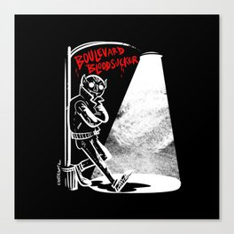 Boulevard Bloodsucker Canvas Print