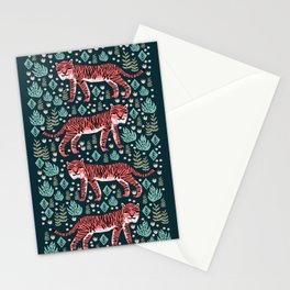 Safari Tiger by Andrea Lauren  Stationery Cards