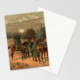 Civil War Battle of Chattanooga by Thulstrup Stationery Cards