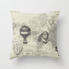 An Incredible Adventure Throw Pillow