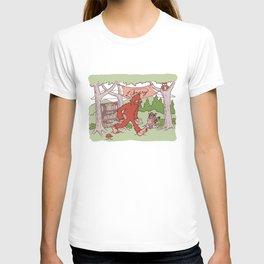 Community Library (Sasquatch) T-shirt
