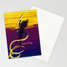 keep reaching Stationery Cards