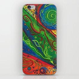 Galatic Cucumber iPhone Skin