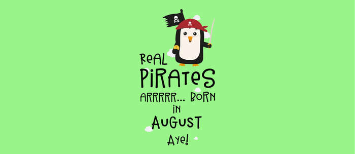 Real Pirates are born in AUGUST T-Shirt D47rd Coffee Mug
