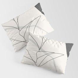 Abstract Art /Minimal Plant Pillow Sham