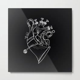 TUBA HEART Metal Print